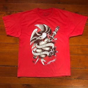 Ed Hardy Mens Short Sleeve T-shirt